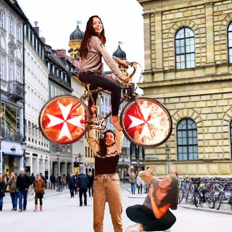 Three Lebanese girls taking on the roads of Eastern Europe.