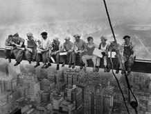 Puking king @ The Rockefeller Center