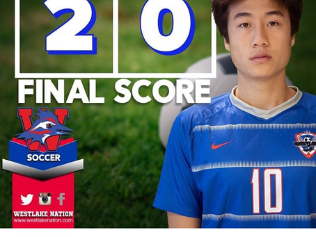 Chaps Soccer 2-0 Over Trojans Extending Winning Streak to 8!