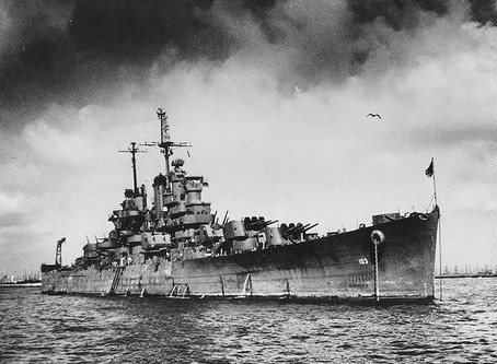 Hidden in the Lower Keys, The USS Wilkes Barre