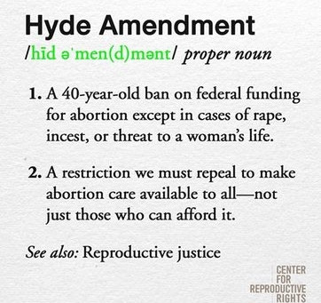 Hell No Hyde: Why West Fund Wants to Repeal the Hyde Amendment