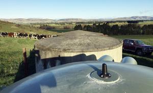 Farm water tank monitoring
