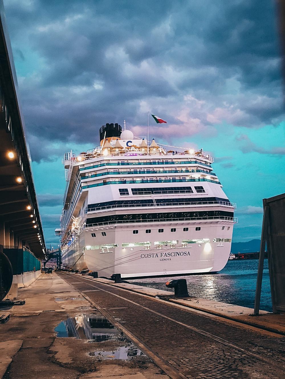 κρουαζιέρα  Costa Cruises diarywings costa fascinosa