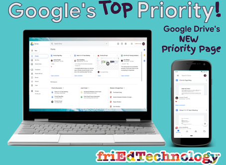 "Google's Top ""Priority""!"