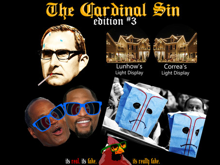 Edition 3 , The Cardinal Sin - Devil Magic Satire