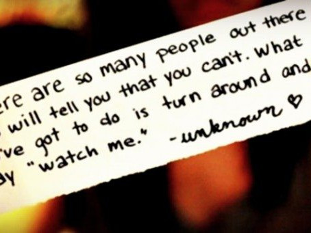 Don't Get Upset At Naysayers Embrace Them Instead