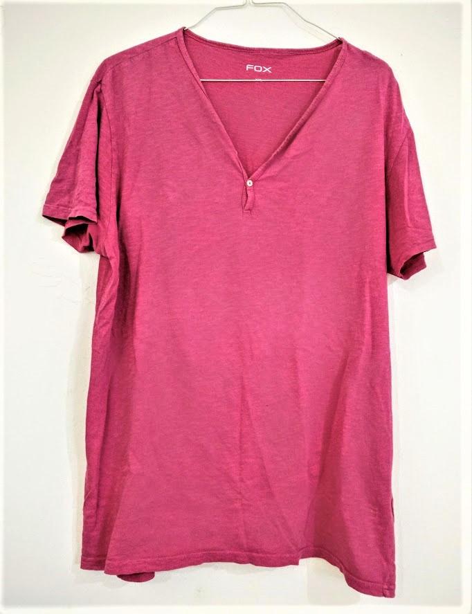 Man's large pink t shirt