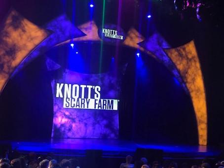 Knott's Scary Farm Announcement Event