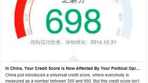 The Social Credit Score is Coming...