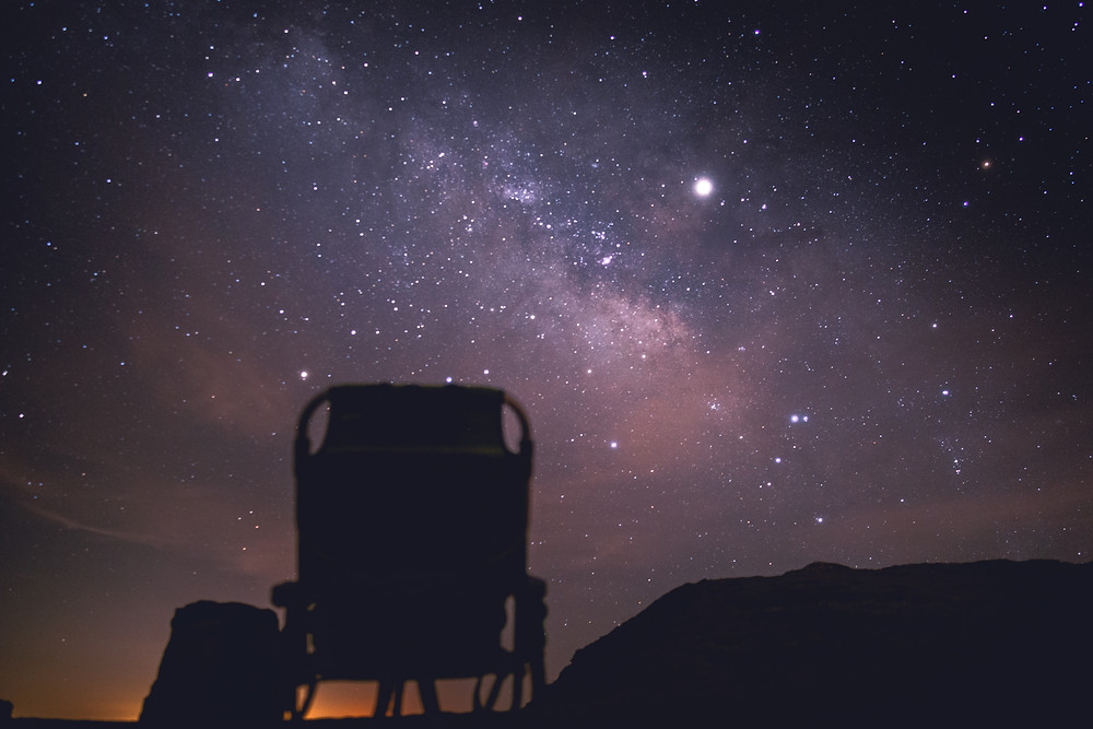 front row seat to star gazing