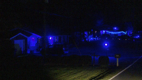 Henry County neighborhood lights up blue in support of law enforcement