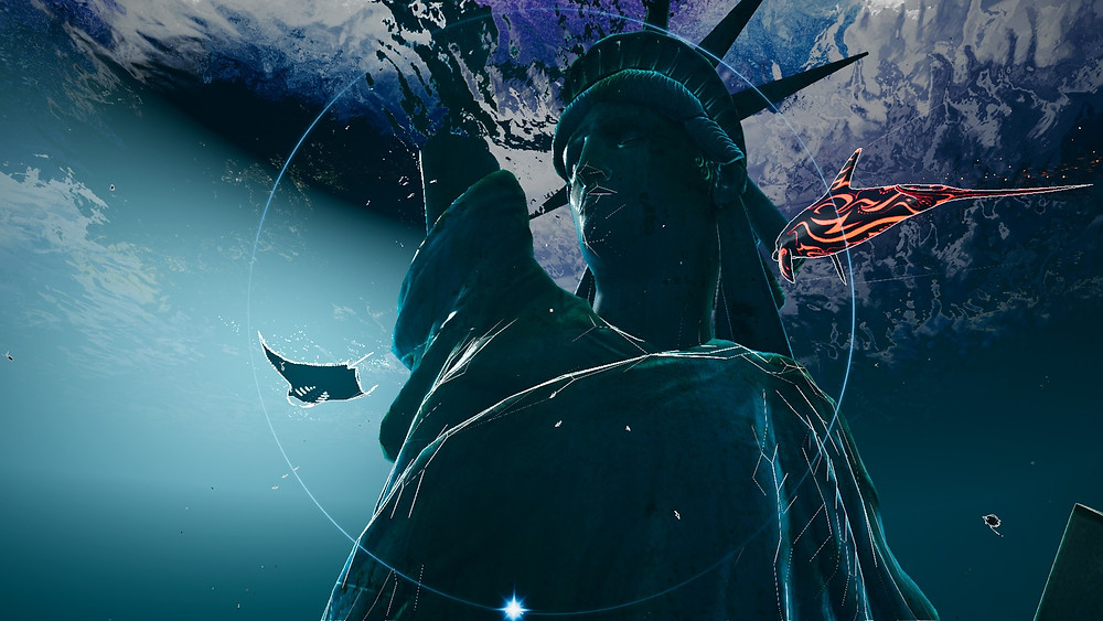 Jupiter & Mars Screenshot Statue of Liberty