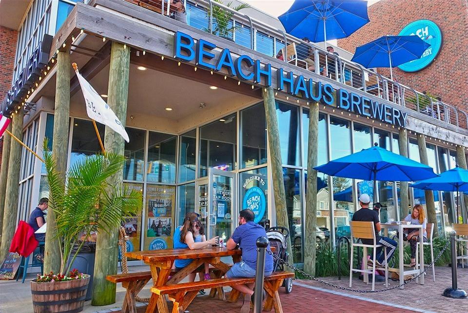 Outdoor Seating Beach Haus Belmar