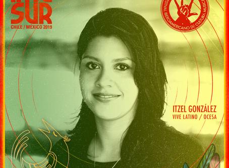 Itzel González: Primera Invitada Internacional confirmada en IMESUR 2019
