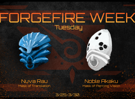 FORGEFIRE Tuesday: Masks of Clarity