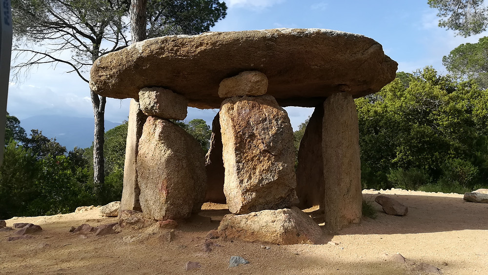 Dolmen piedra gentil - escaneo laser 3D - Nube de puntos