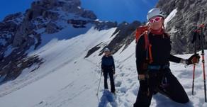 Endlich wieder richtig Bergsteigen
