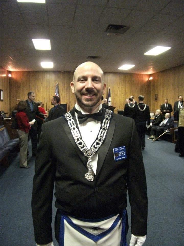 7 years ago I was installed as Senior Steward of my lodge