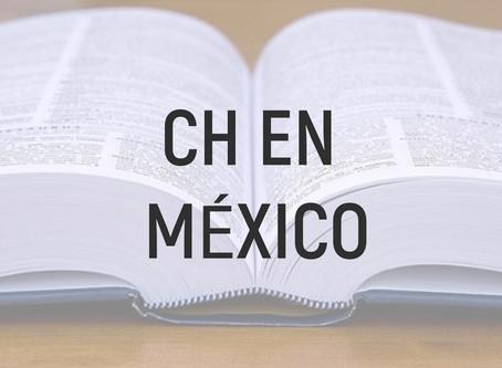 La importancia de la CH en el español mexicano y las palabras más representativas que lo contienen.