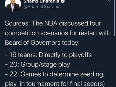 Which NBA Restart Plan Do Some Fans Favor?