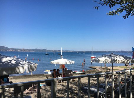 Summer weekend in Bracciano, Lazio