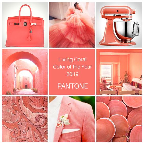 Цвет 2019 года Пантон