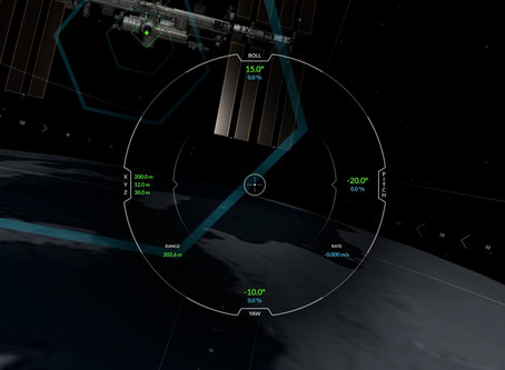 SPACEX releases ISS Docking Simulator