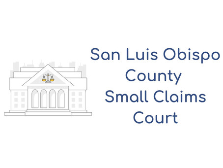San Luis Obispo County Small Claims