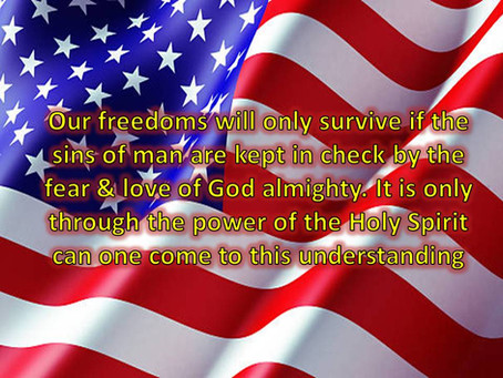 This Fourth of July Celebrate the True Source of Our Freedoms!