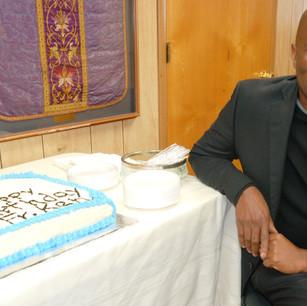 Fr. Ken's Birthday Cake
