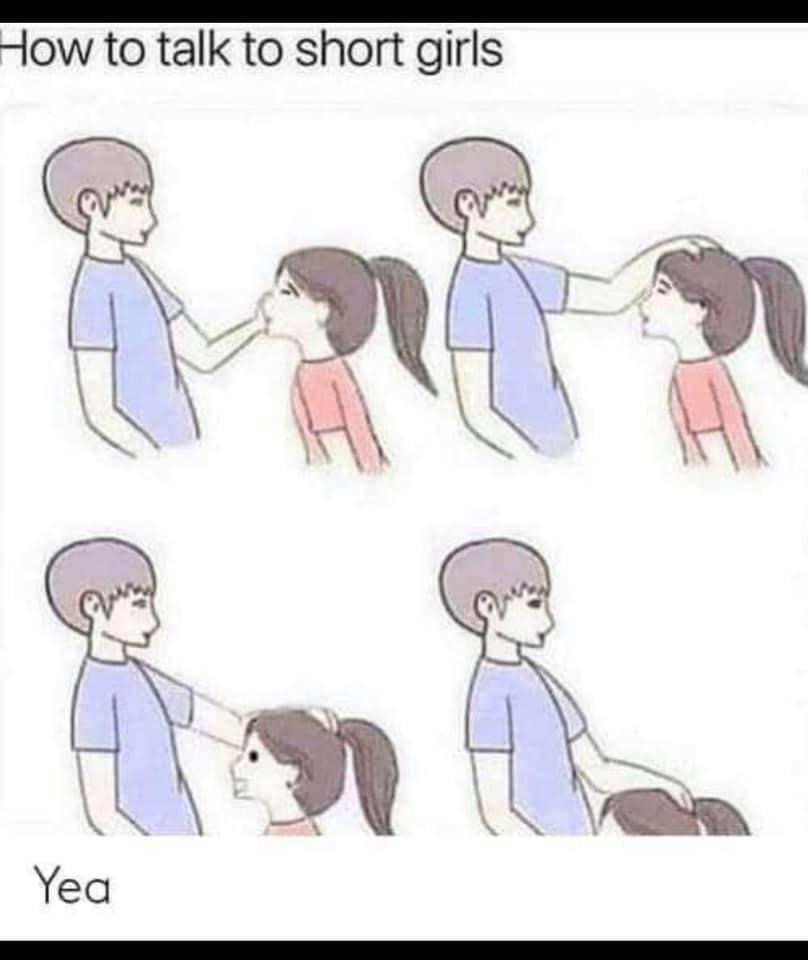 How to talk to short girls. Blowjob