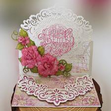 Elegant Fuchsia Roses
