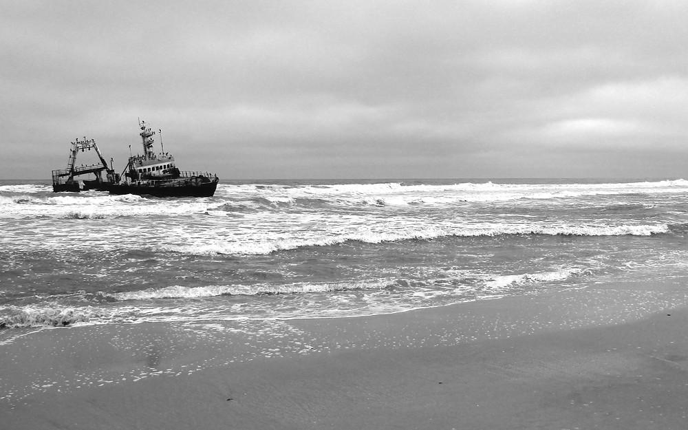 Skeletton Coast Schiffswrack