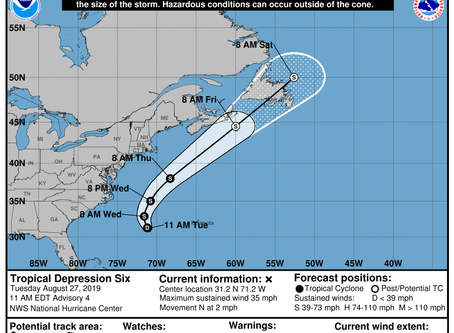 Tropical Cyclone Information Statement Issued for Atlantic Canada