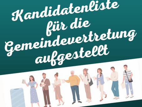 """""""Bürger für Rabenau e.V."""" stellt Kandidatenliste auf"""