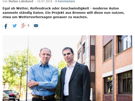 Cross-CPP and Automat featured in German regional press