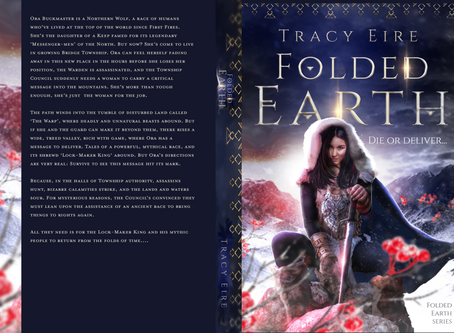 'Folded Earth' cover complete!