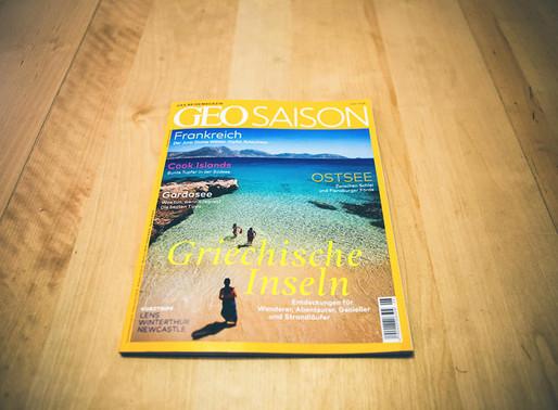 Printed on GEO magazine