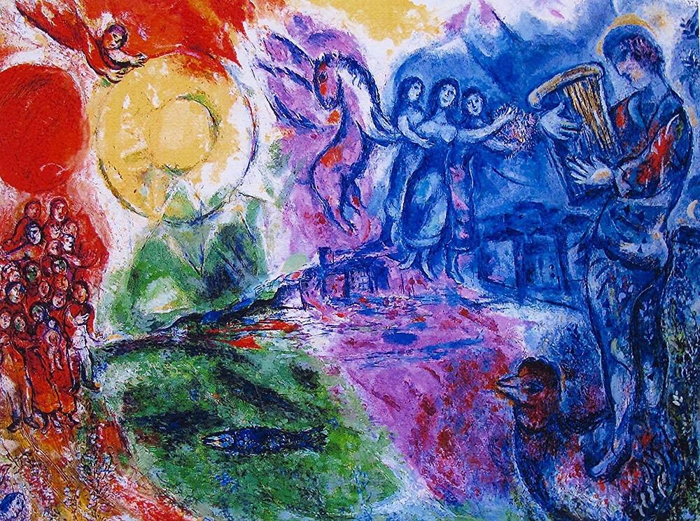 Marc Chagall, Orpheus, 1969