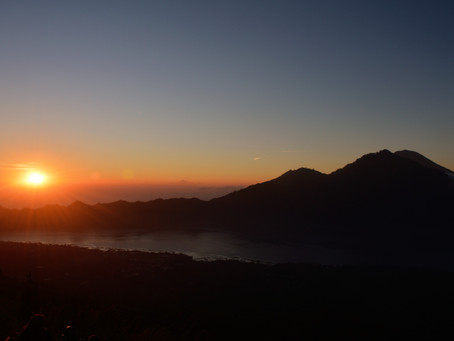 Mt Batur Sunrise Trek. How I climbed this active vocano?
