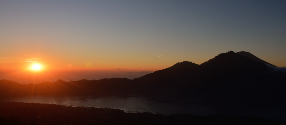Mt Batur Sunrise Trek. How I climbed this active vocano?