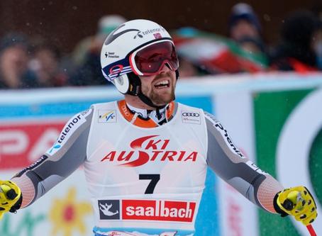 Aleksander Aamodt Kilde Wins Saalbach Super-G