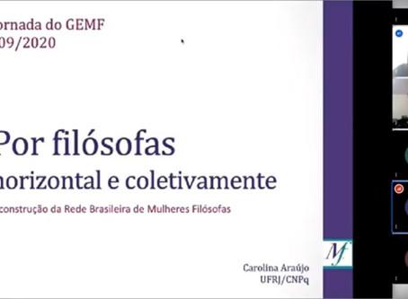 Carolina Araújo na IV Jornada do GEMF