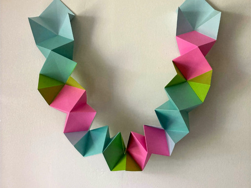 Caterpillar Fold Paper Garland