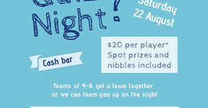 Island Bay School Parent's Quiz Night - 22 August