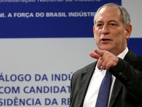 Ciro Gomes sobre atual governo: 'é exatamente o primeiro momento do governo Collor'