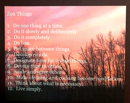 My Zen Things