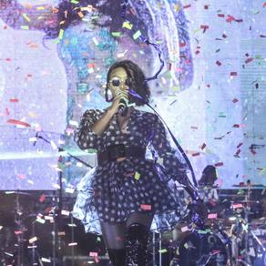 Pérola actuou no Show Team de Sonho - Geração de Ouro em Moçambique.