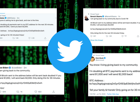 Twitter Bitcoin Scams - What Happened and Why Do We Need To Decentralize?