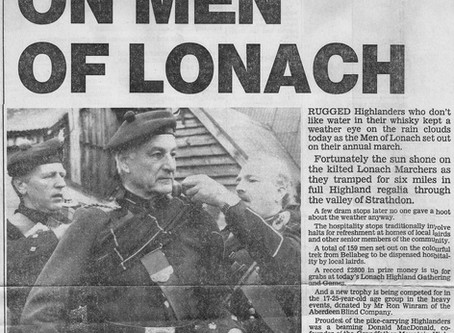 Sun Shines on the Men of Lonach